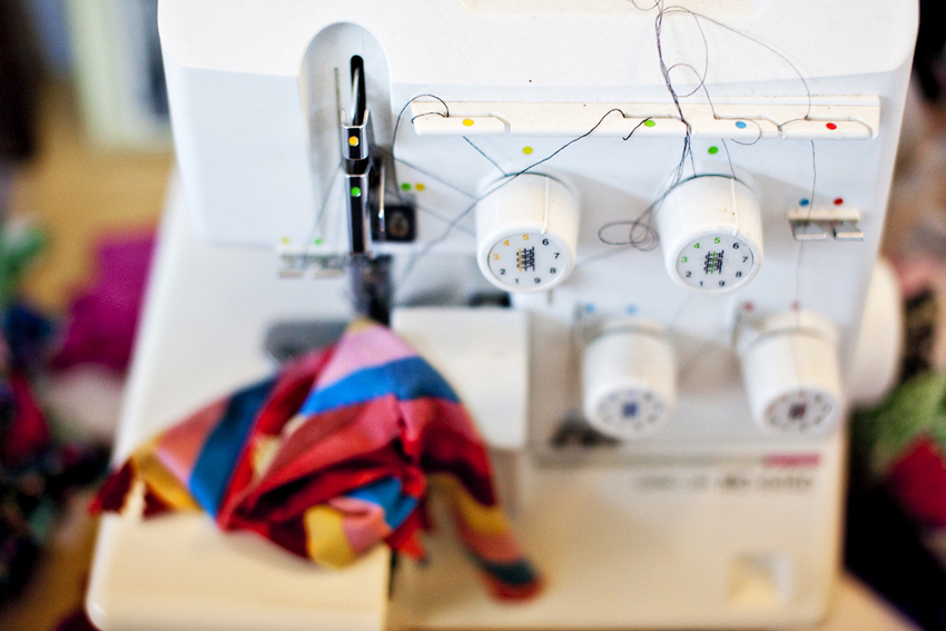 Sewing Machine in Karina Dress Studio © Marni Mattner Photography - Commercial Photograher