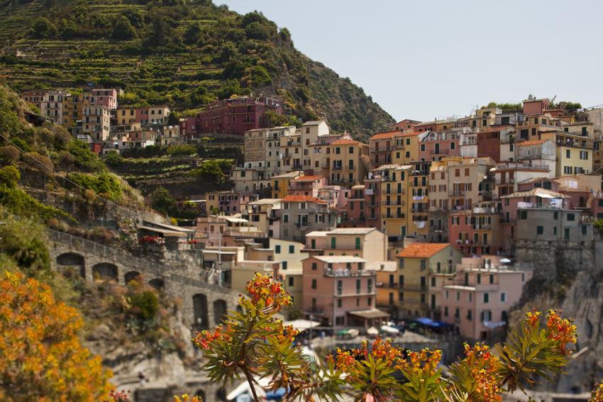 Cinque Terre Manarola on Italy's western coast copyright Marni Mattner Photography