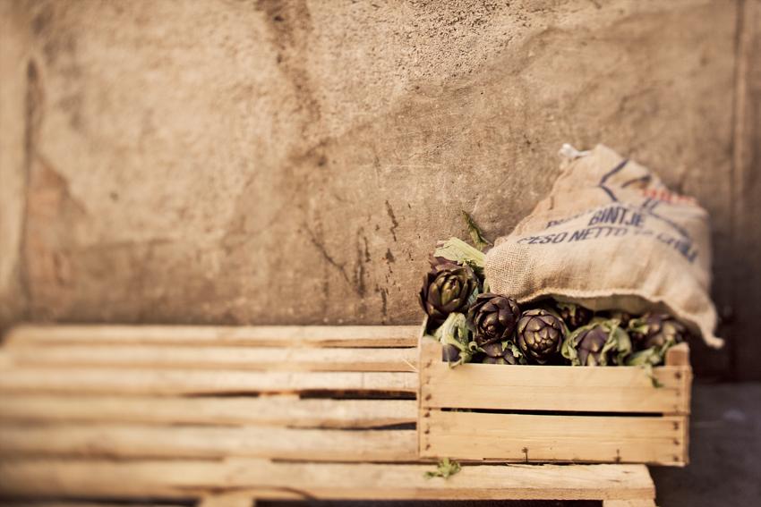 Artichokes in Venice © Fine Art Photographer Marni Mattner