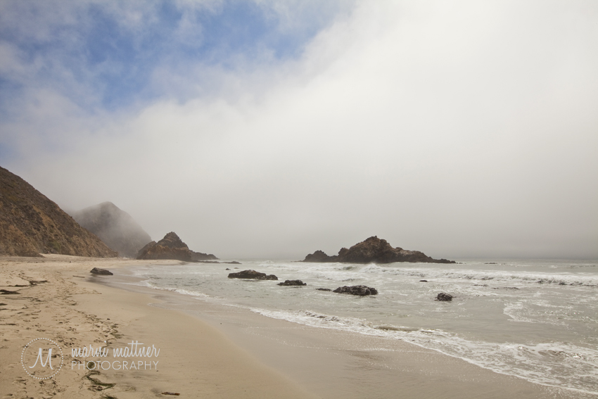 Big Sur Coastal View From One of the Many Incredible Beaches © Marni Mattner Photography
