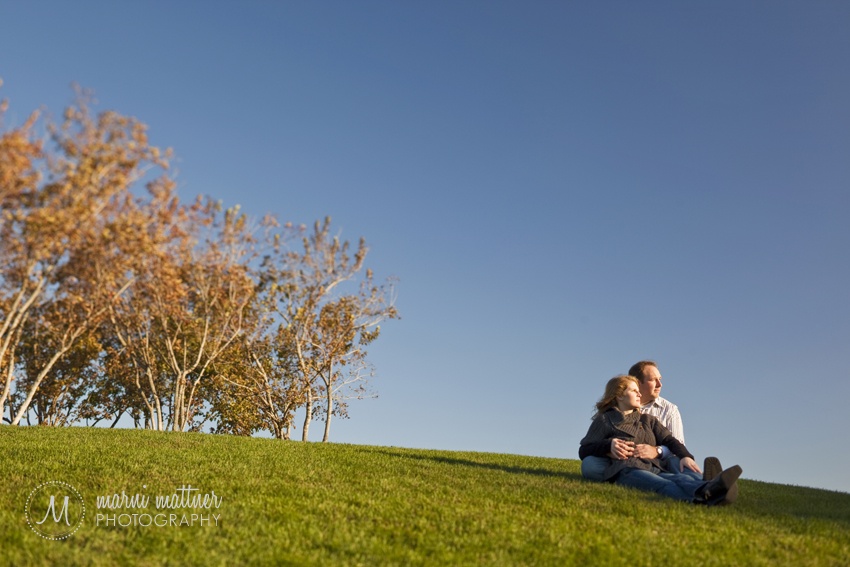 Liz & Dave Near the Guthrie in Minneapolis, MN © Marni Mattner Photography