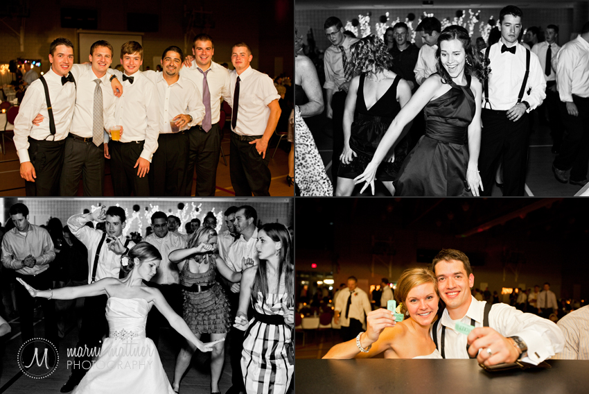 Reception Wedding Dance © Marni Mattner Photography