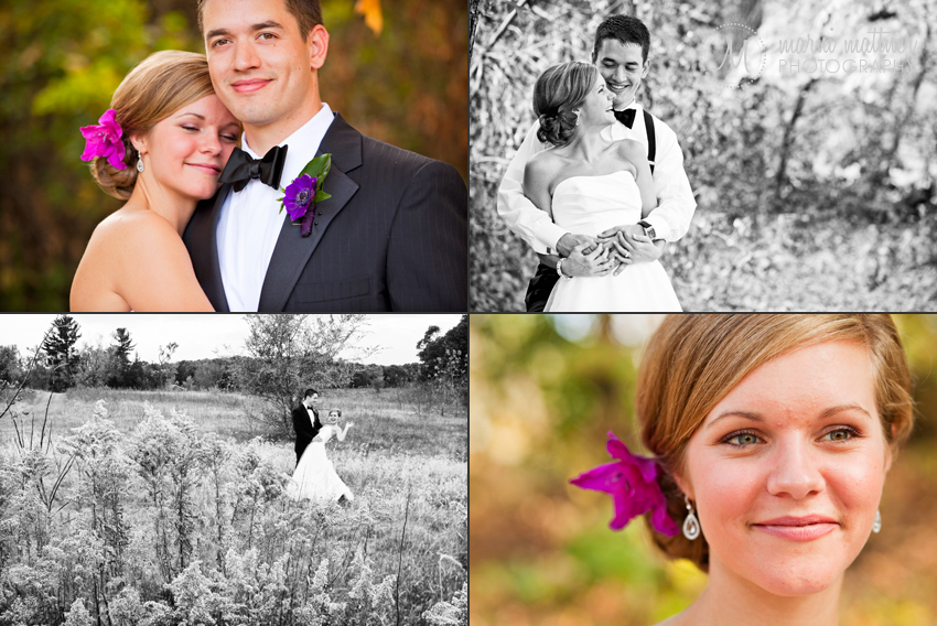 Nikki and Brian's Fall Cambridge, Minnesota Wedding © Marni Mattner Photography