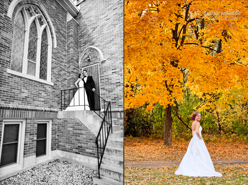 First Look Wedding Photos © Marni Mattner Photography