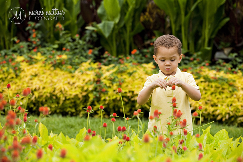 Trey in Wash Park's Gardens in Denver, Colorado © Marni Mattner Photography