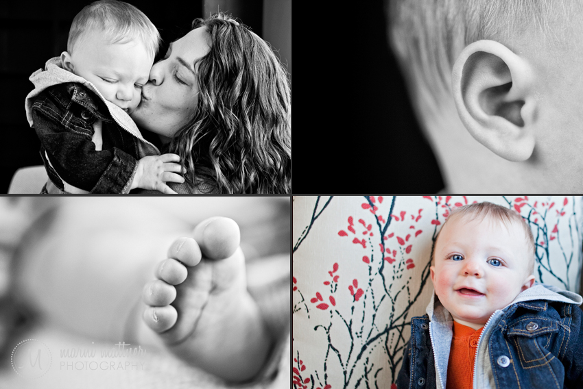 Rowan's Baby Portraits in Grand Junction, Colorado © Marni Mattner Photography