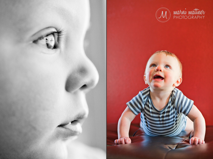 Rowan Infant Photography in Colorado © Marni Mattner Photography