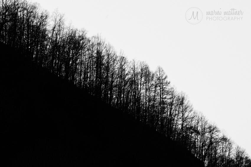 Ridgeline in Silhouette Near Premana, Italy © Marni Mattner Photography
