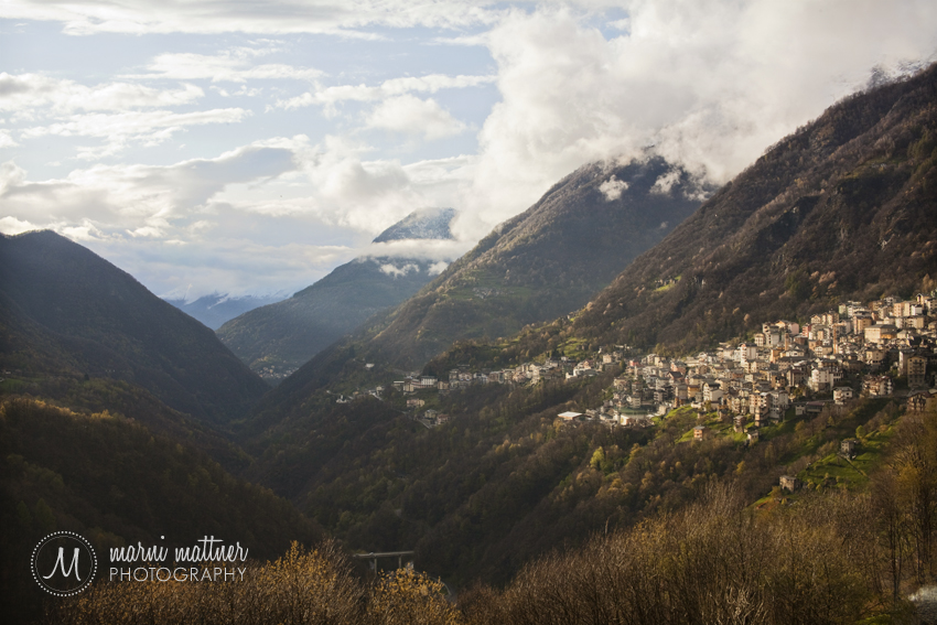 Premana, Italy from High in the Valley © Marni Mattner Photography