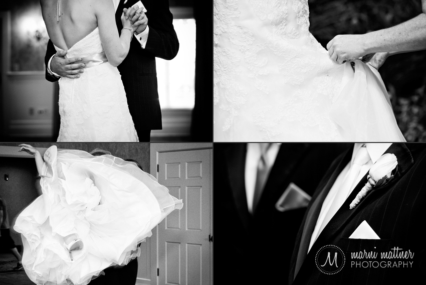 Prestwick Golf Course wedding reception for Dave & Liz © Marni Mattner Photography