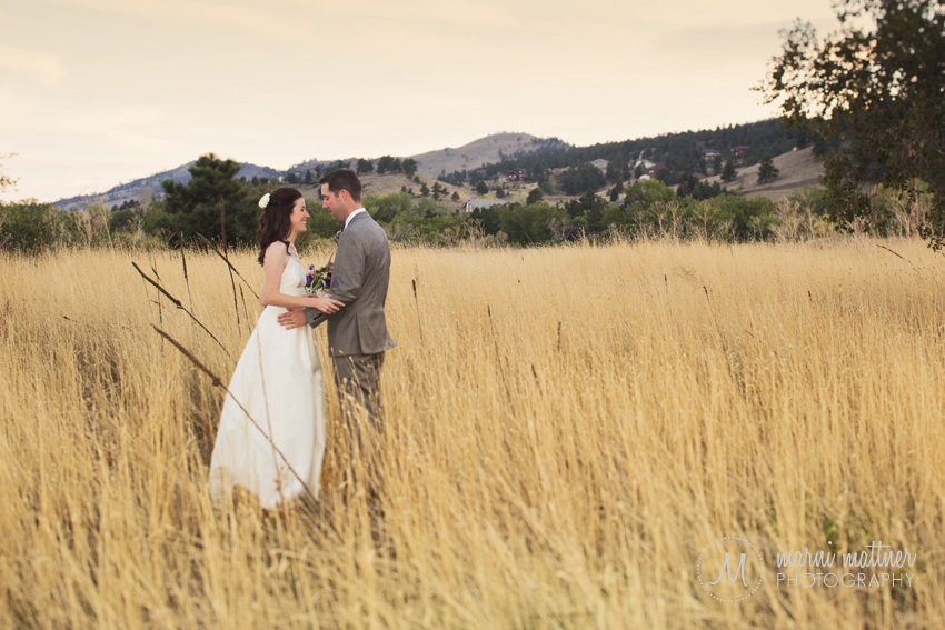 Patrick and Christina in Boulder, CO foothills at the Greenbriar Inn © Marni Mattner Photography