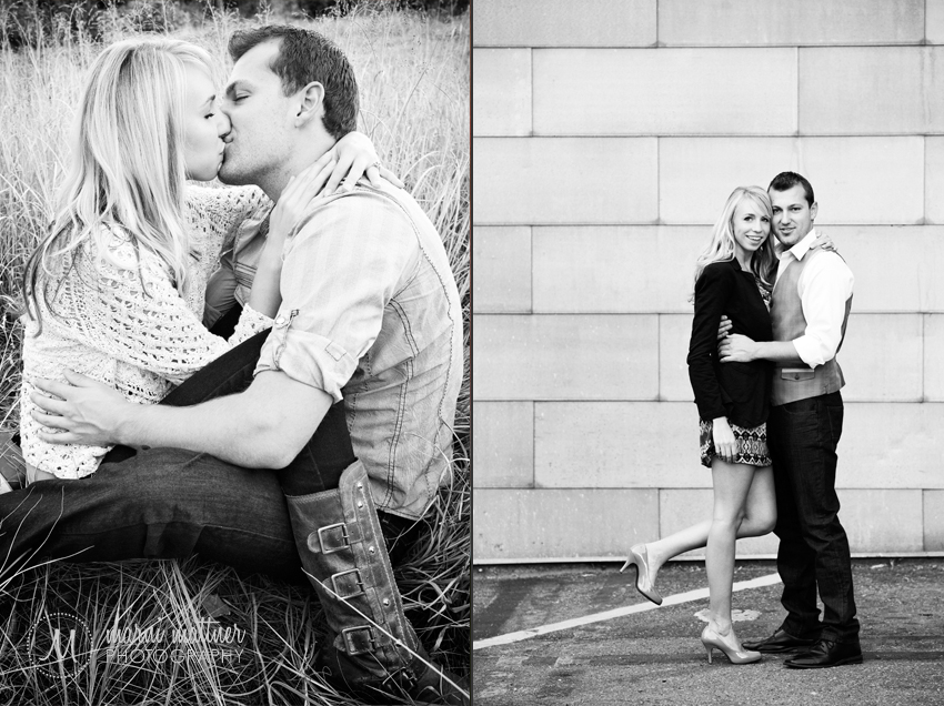 Brook & Eric's LoDo Engagement Photo Shoot in Denver, CO © Marni Mattner Photography