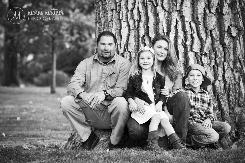 The Whole Family in For A Family Photo in Denver, CO © Marni Mattner Photography
