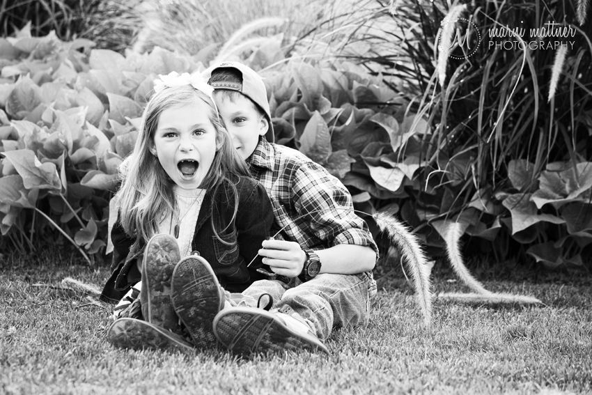 Ilyn & Caden's Brother-Sister Portrait in Denver, Colorado © Marni Mattner Photography