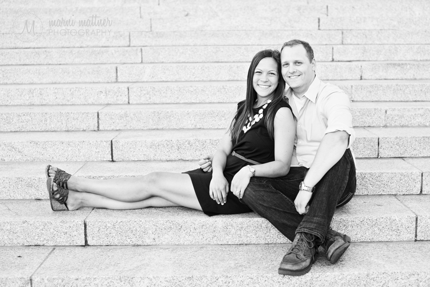 Jon & Cheryl's Engagement Portraits in Chicago, IL © Marni Mattner Photography