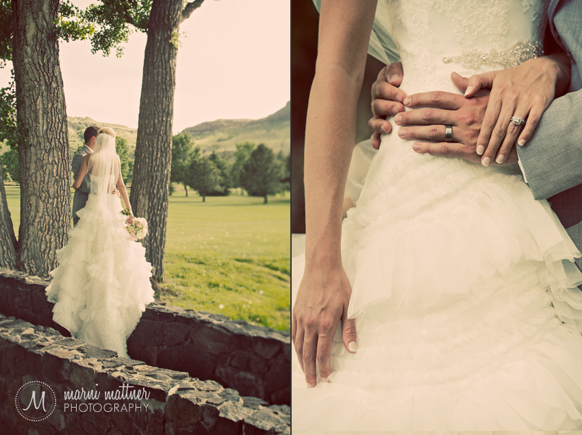 Windblown Trees, Star-Crossed Lovers and Wedding Rings © Marni Mattner Photography