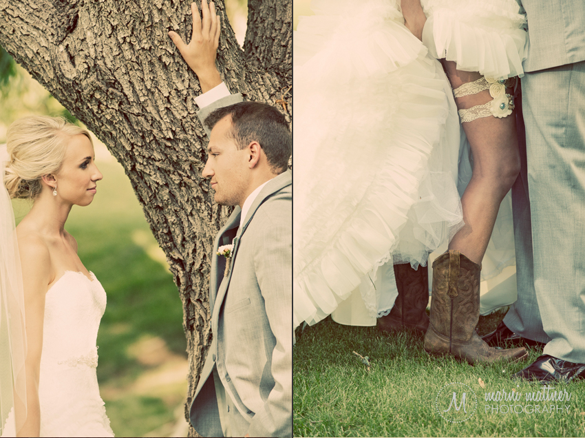 Check Out Brook's Beautiful Garters! © Marni Mattner Photography