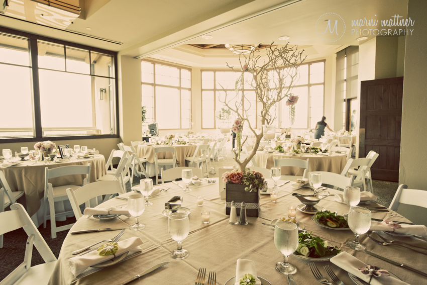 Wedding Reception at The Club at Rolling Hills in Golden, CO © Marni Mattner Photography