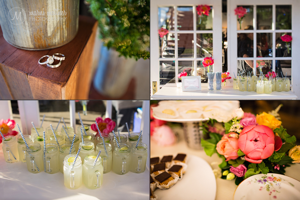 Britton & Nicole's perfectly planned wedding details at Denver's Space Gallery