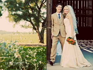 Ryan And Deirdra, Healdsburg, California Lone Tree and Barn © Marni Mattner Photography