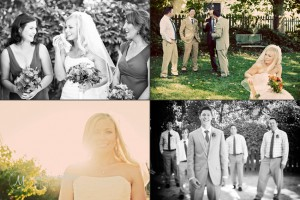 Wine Country Wedding Near Vineyard With Attendants © Marni Mattner Photography