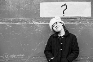 Grace Ponders The Meaning Of Life in Denver's RINO © Marni Mattner Photography